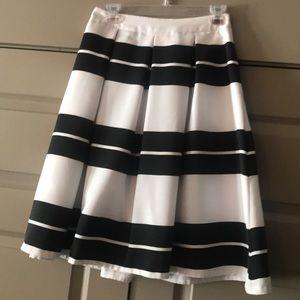 Stripe A-line Skirt